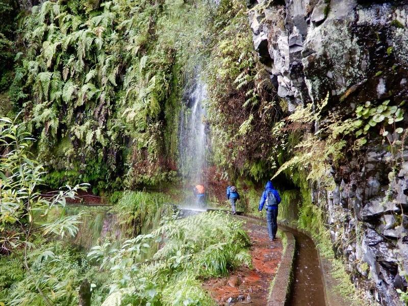 Wandelen op Madeira, Levada del Rei in de winterzon