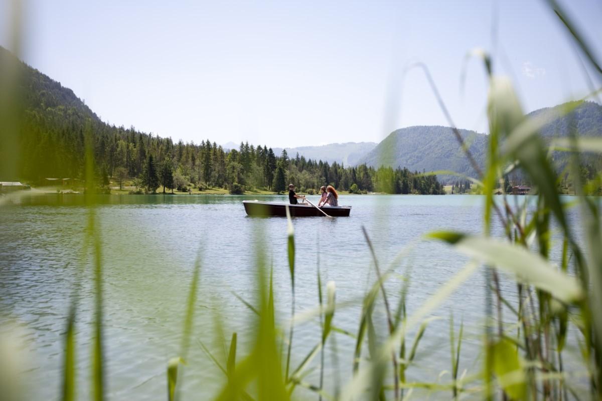 Lekker zwemmen en varen op de Pillersee. Foto: TVB PillerseeTal