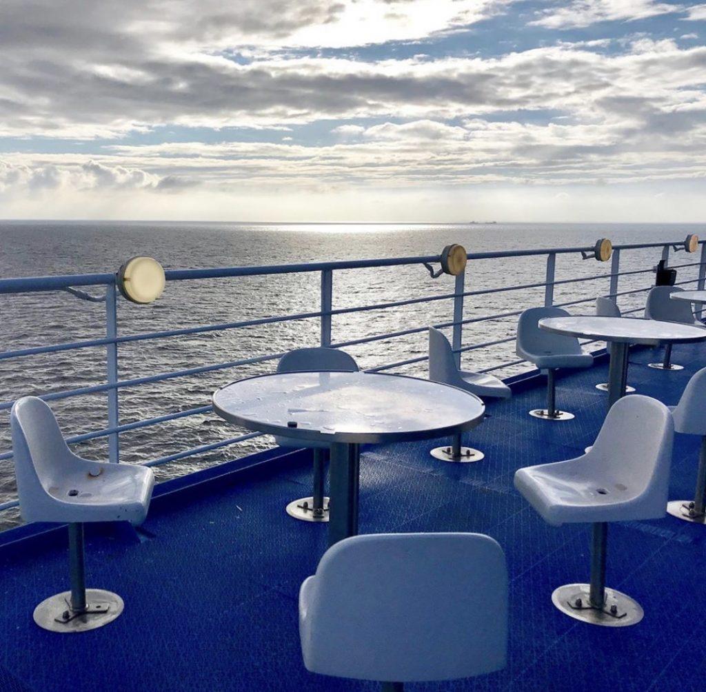 Sunrise P&O ferry Rotterdam - Hull