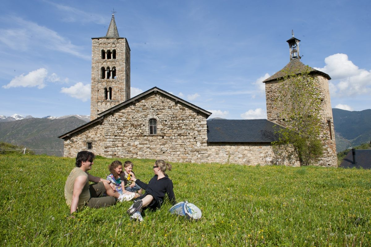 Er is met kleine kinderen genoeg te beleven in Vall d'Àneu ©Ramon Gabriel