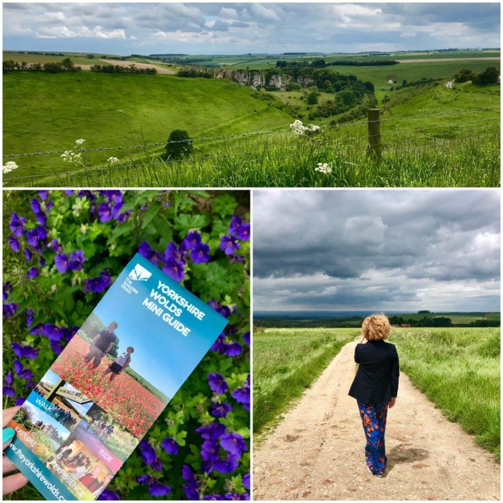 Wandelen door de Yorkshire Wolds