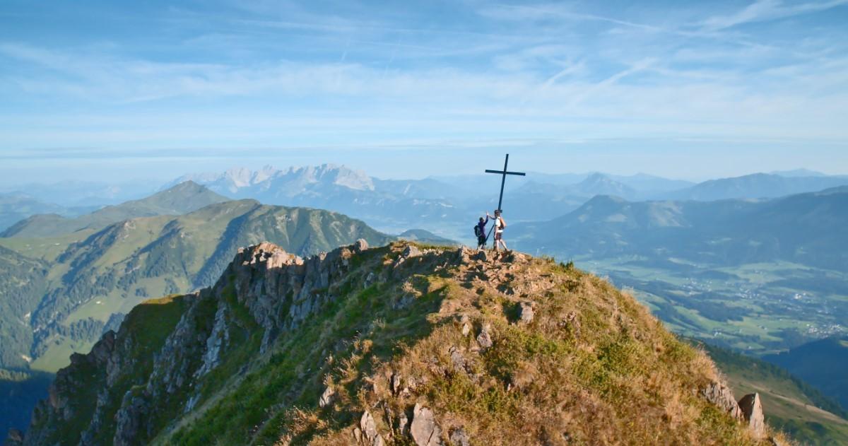 Uitzicht vanaf de Wildseeloder Gipfel in Fieberbrunn © TVB PillerseeTal