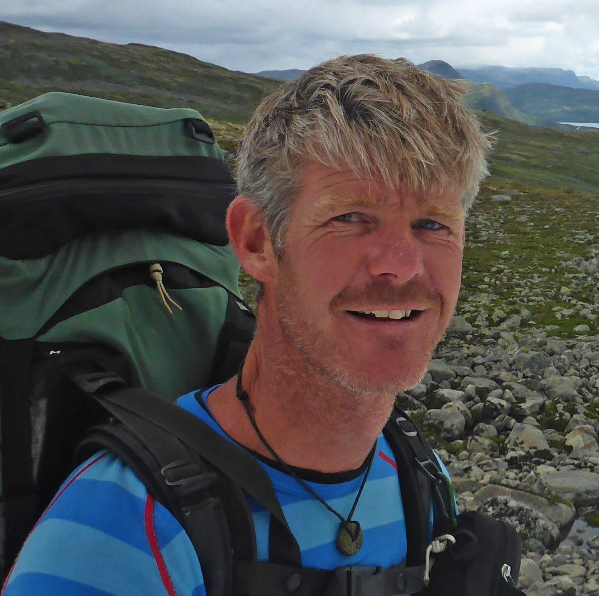 Guido Krijger tijdens zijn reis. Foto: Guido Krijger
