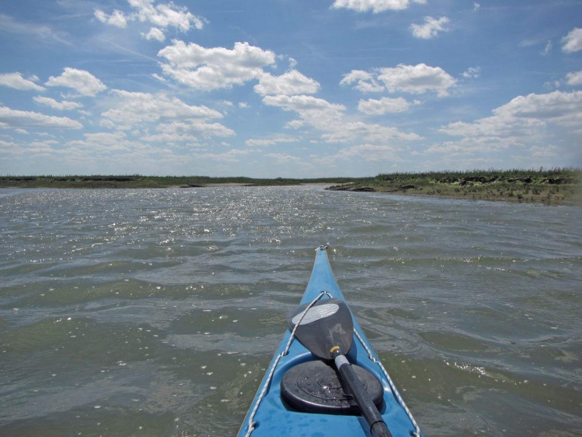 """""""Je ervaart de zee, de wind en de lucht heel intens"""", aldus Guido Krijger. Foto: Guido Krijger"""