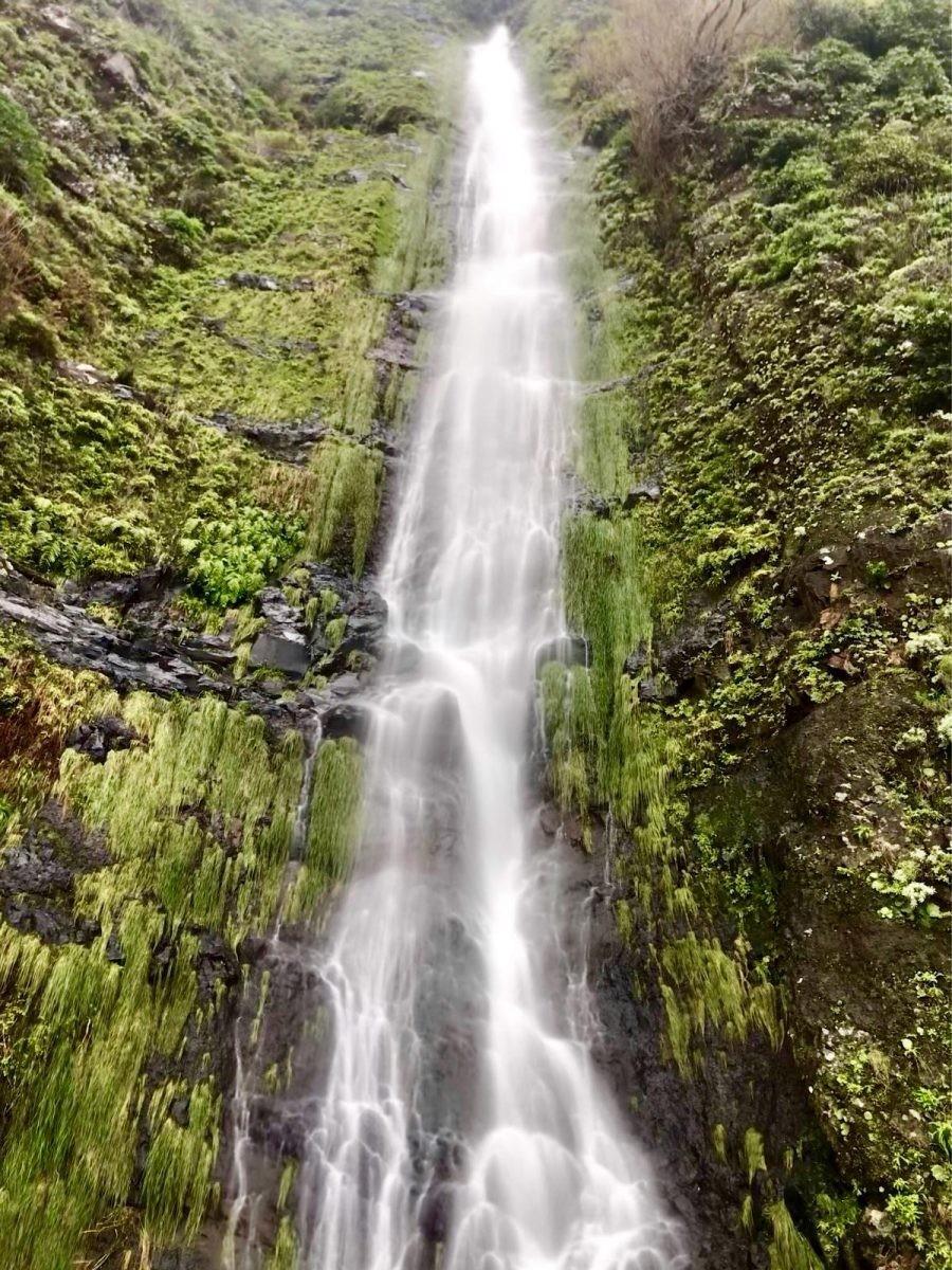 Waterval op Madeira, een winterzon bestemming