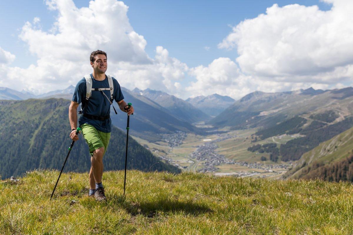 Naast fietsen kun je ook perfect hiken in Livigno en omgeving. Copyright: Livigno