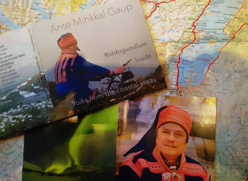 De Cd van Sami zanger Ánte Mihkkal Gaup die me een lift gaf
