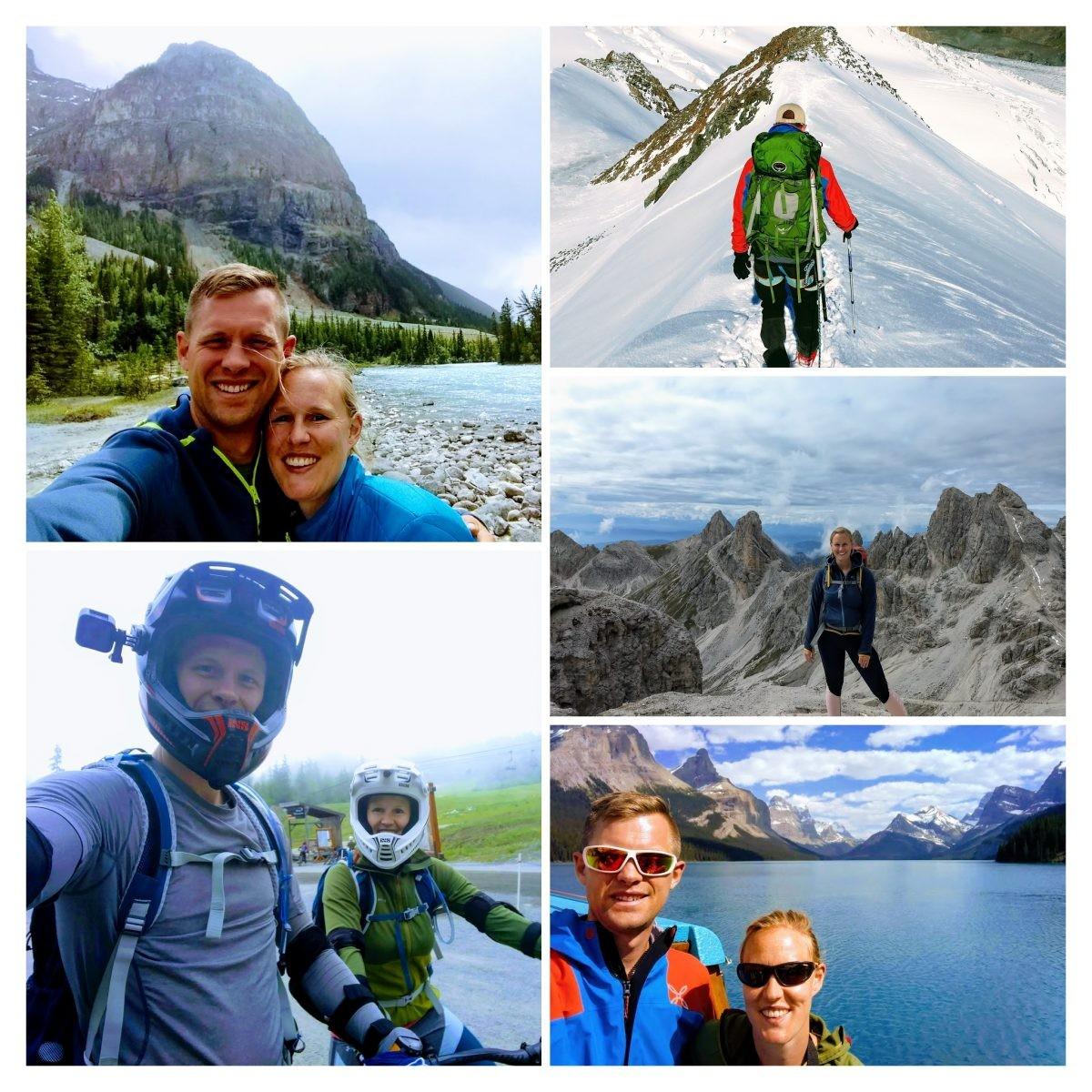 Dit doen wij als bergliefhebbers erg graag! Foto: Sietske Mensing