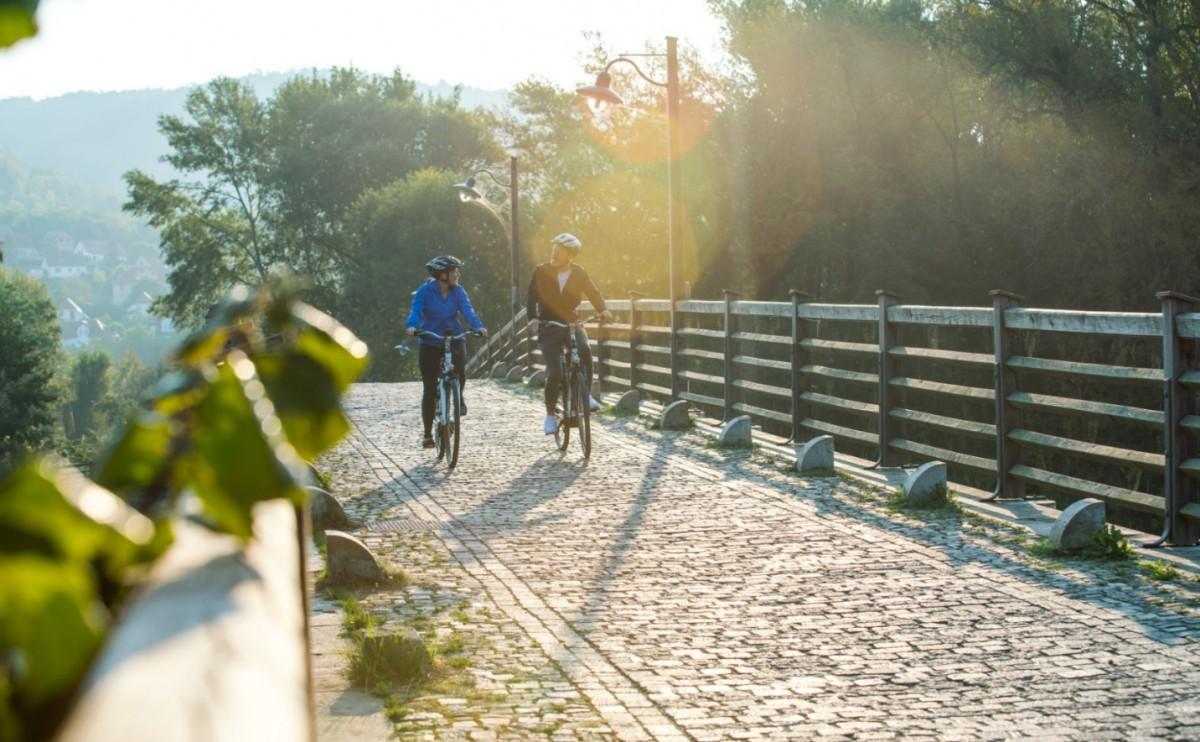 In het Duitse Thüringen is het prachtig fietsen. Foto: Moritz Kert