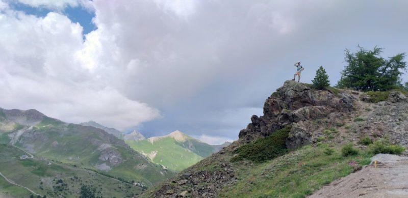 Op de top van Casse du Boeuf