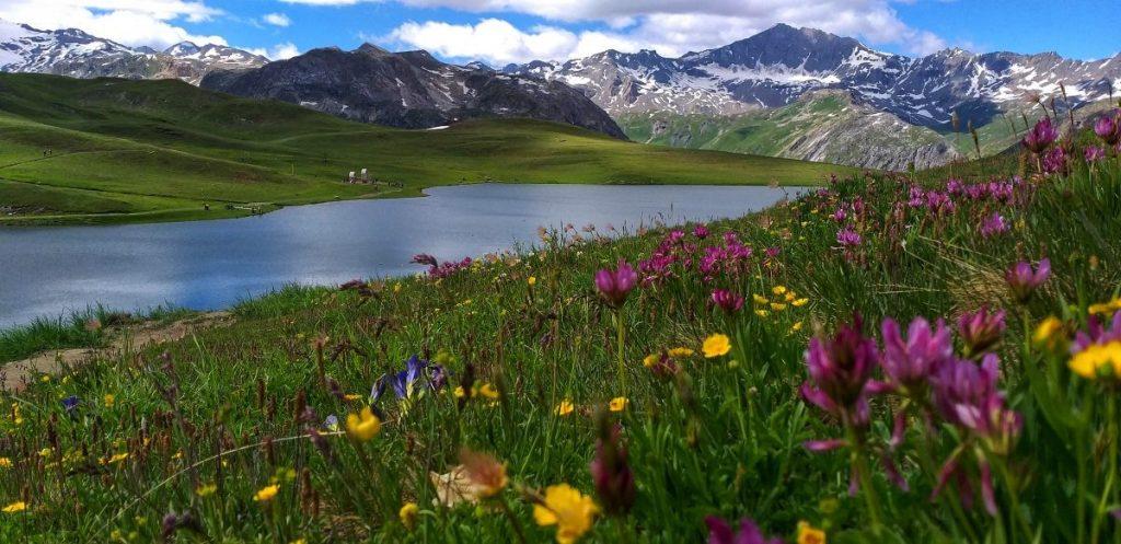 Lac de L'ouilette, Val d'isere
