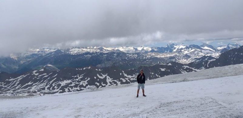 Uitzicht Glacier de la Grande Motte