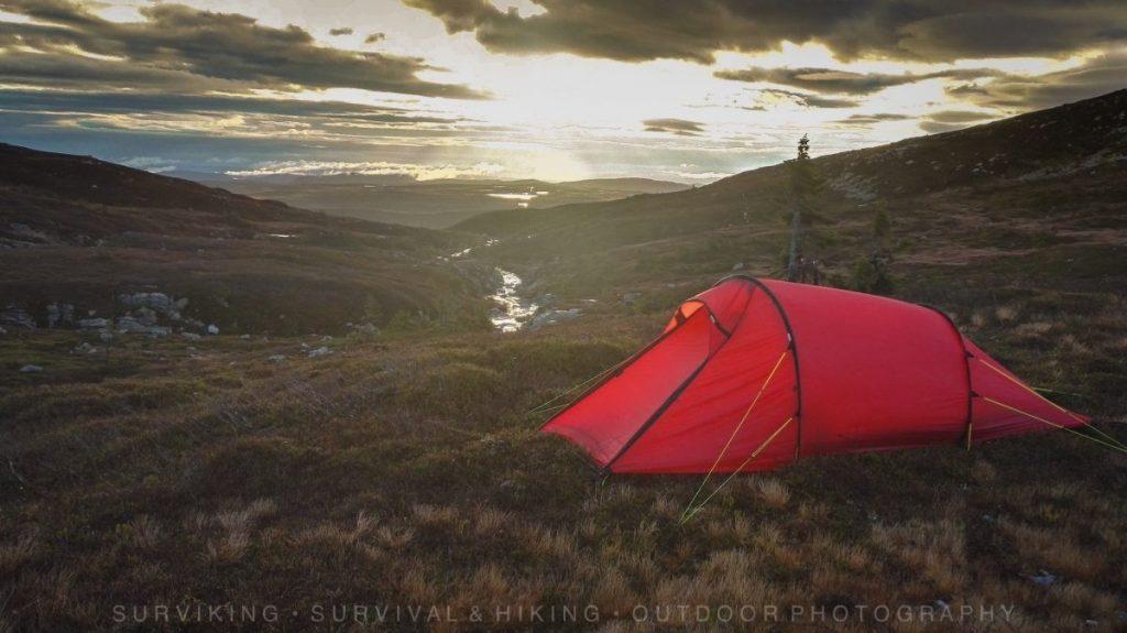 Herfst Survival Trektocht Noorwegen Surviking