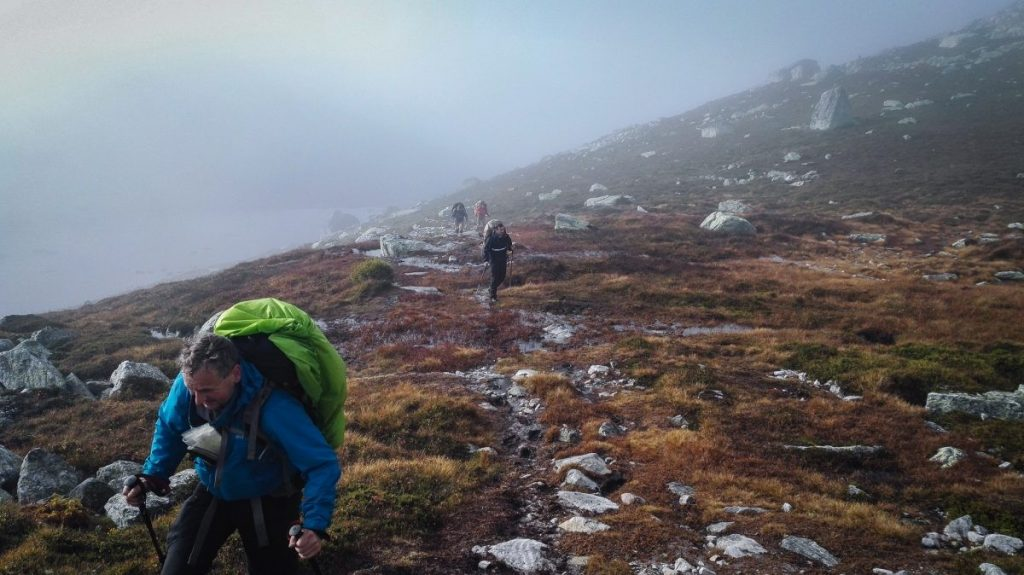 Herfst Survival Trektocht Surviking