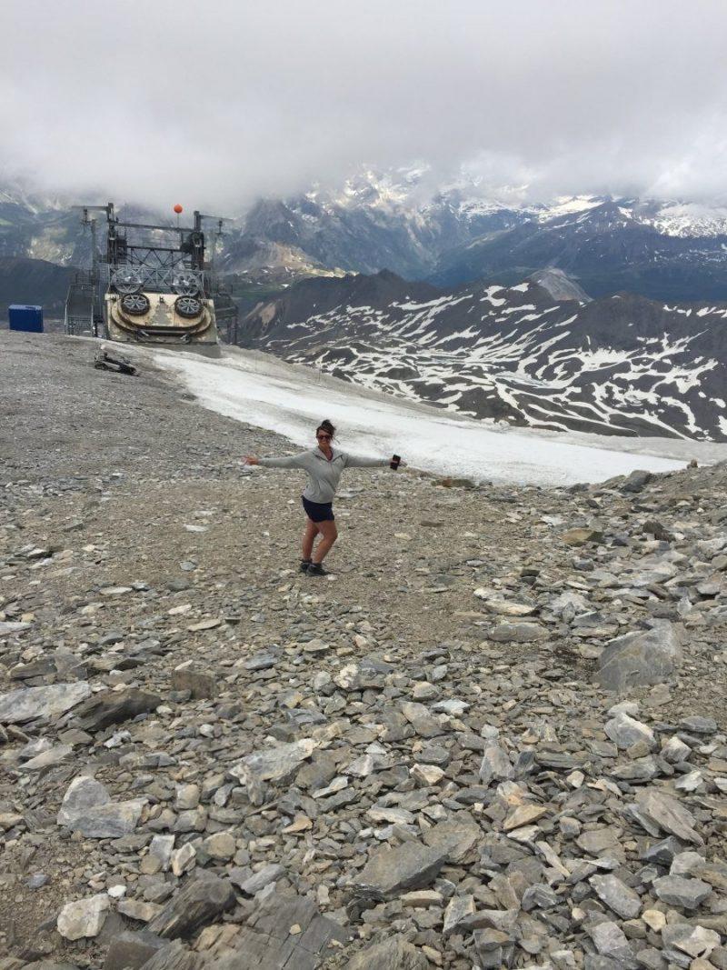 Top Glacier de la Grande Motte na 2 kabelbanen