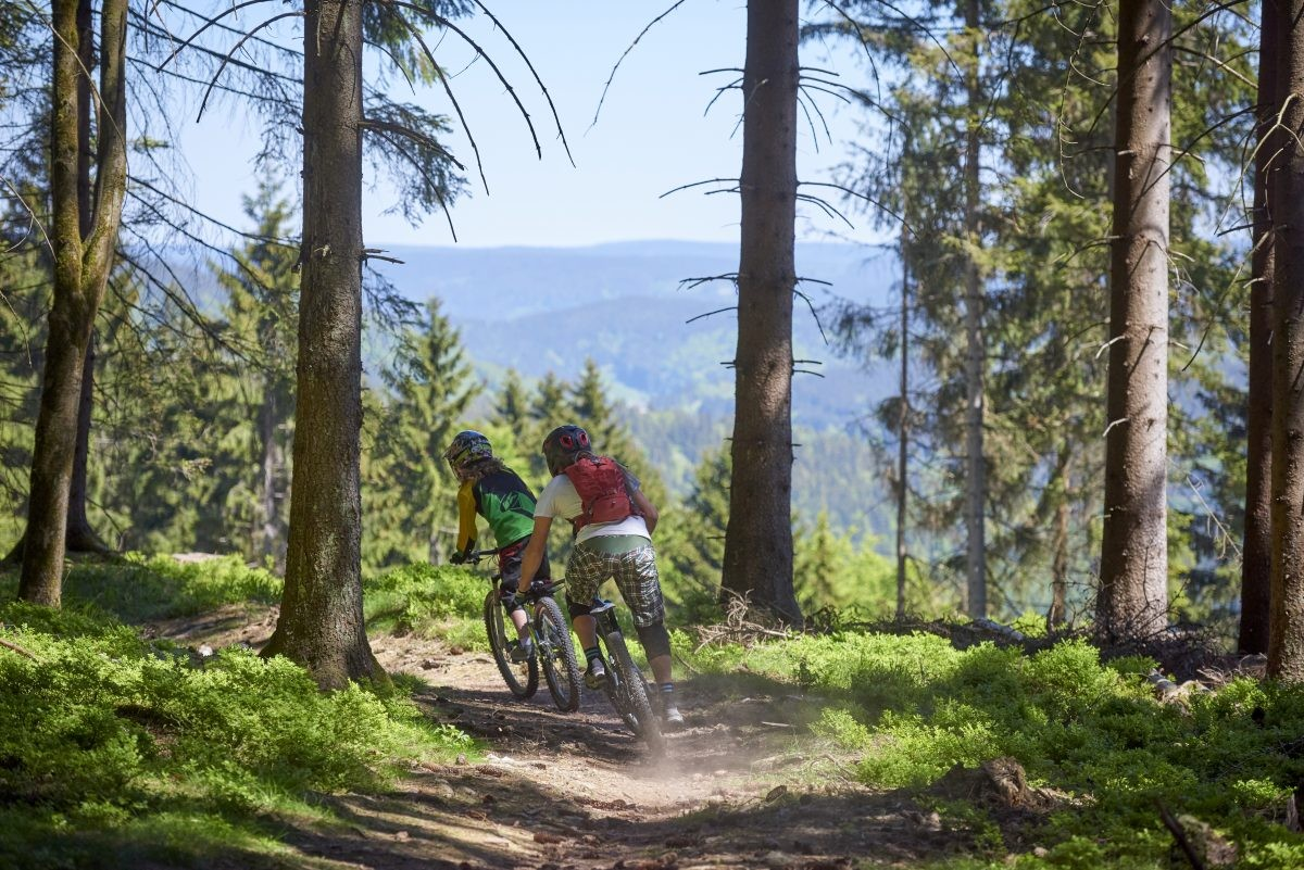 Het Thüringer Wald is een walhalla voor fietsers. Foto: Joris Lugtigheid