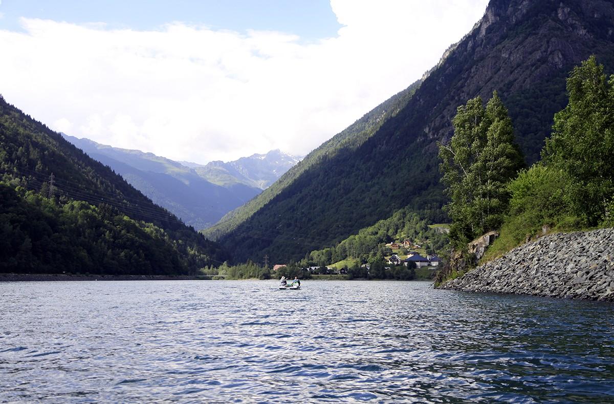 Lac du Verney: om te waterfietsen