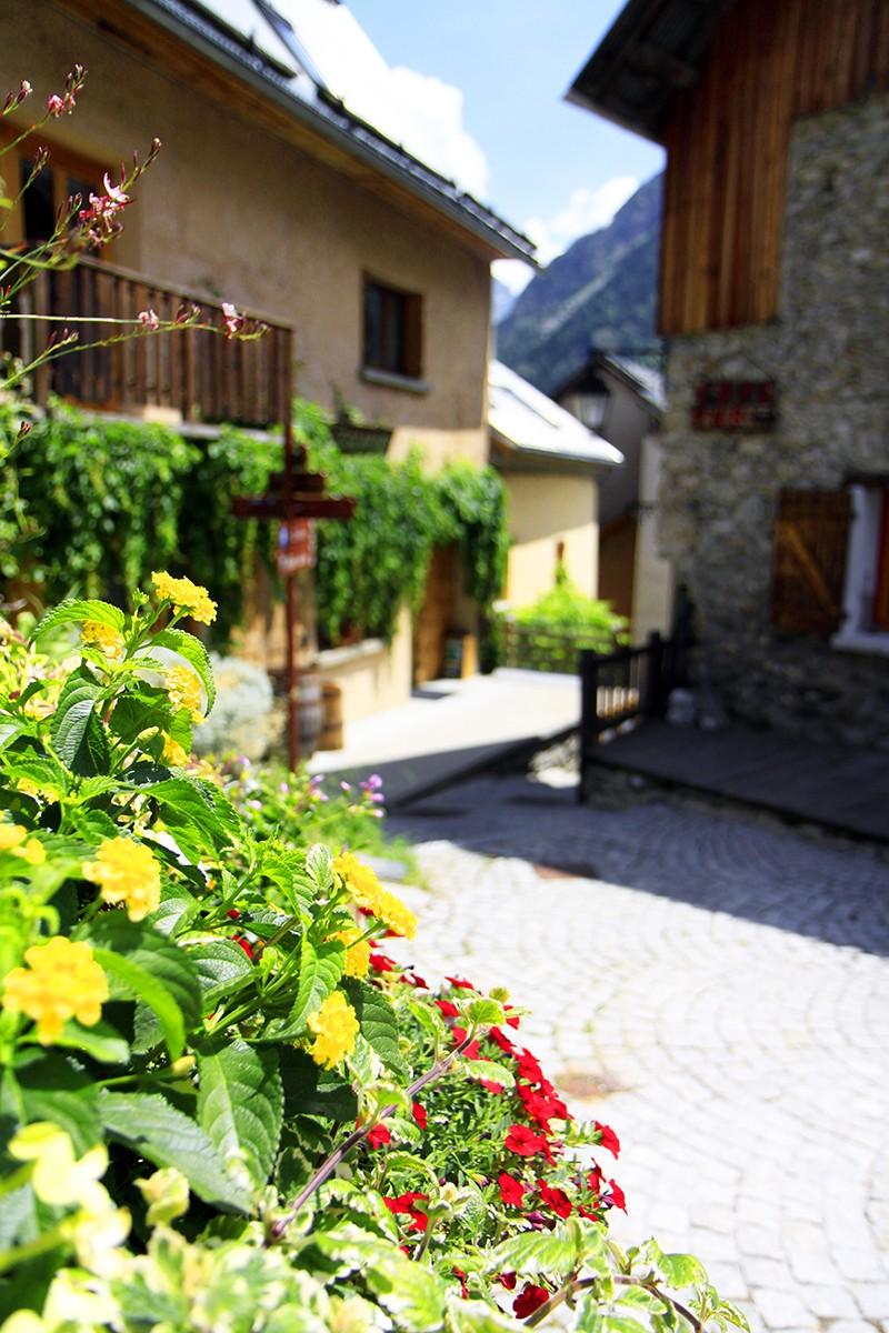 Typisch Frans dorpje in de regio Oisans