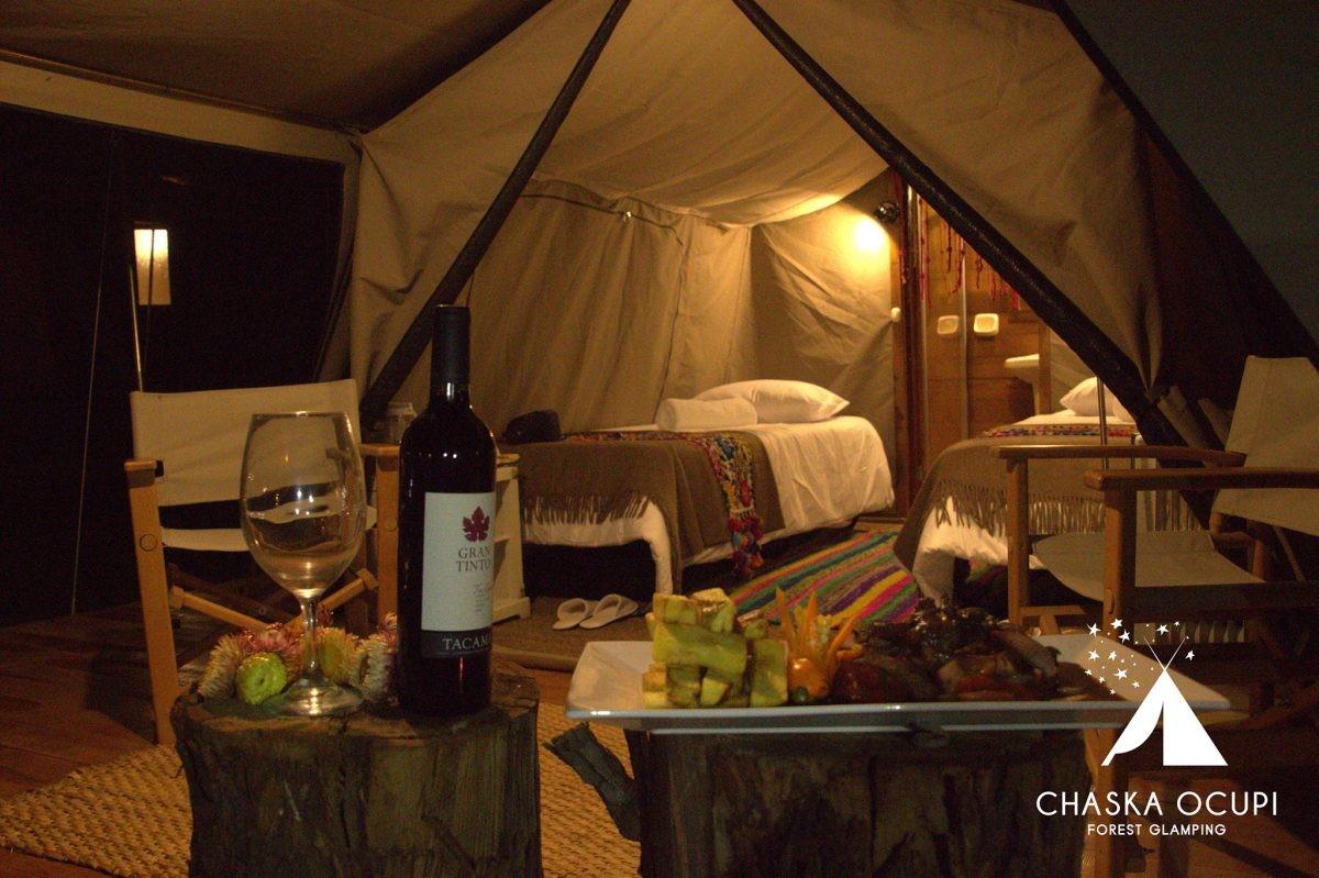 Ultiem genieten van je eigen tent - credits Chaska Ocupi