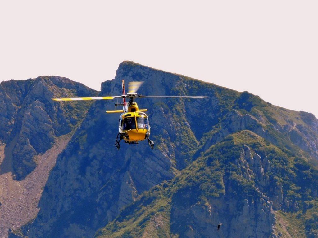 Helikopter ongeval Belg