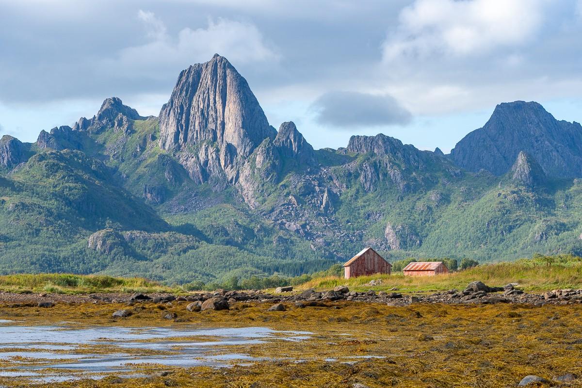 bergen en fjorden lofoten