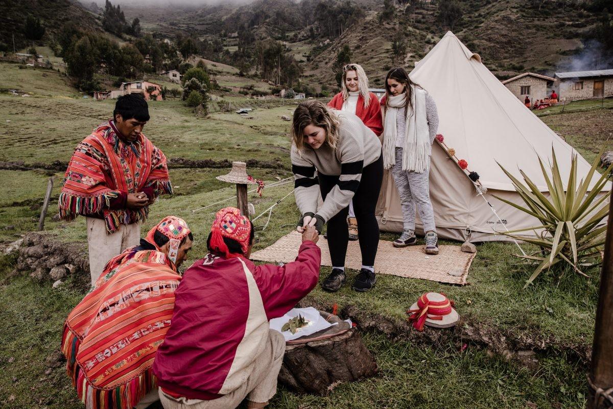 Een unieke ervaring bij de locals - credits Qhispikay Sustainable Glamping