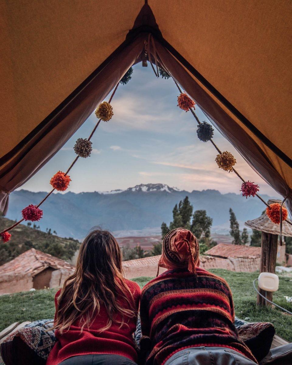 Hoe Instagrammable wil je het hebben? - credits Qhispikay Sustainable Glamping