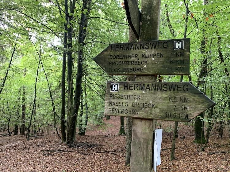 Hermannsweg Tecklenburg Bad Iburg