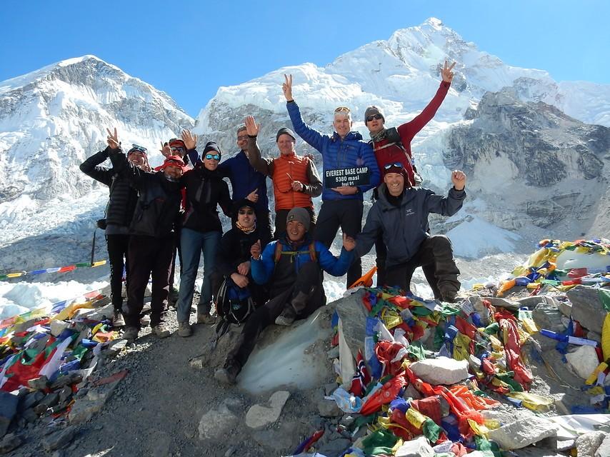 In Nepal zijn de mogelijkheden eindeloos. Wordt het de Everest? Foto: Karien Durville