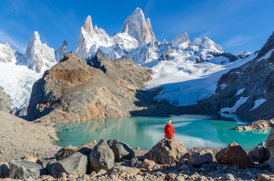 Patagonië kan natuurlijk niet ontbreken op deze lijst. Foto: shutterstock