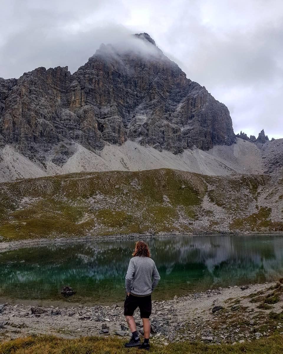 Savognin in Graubunden