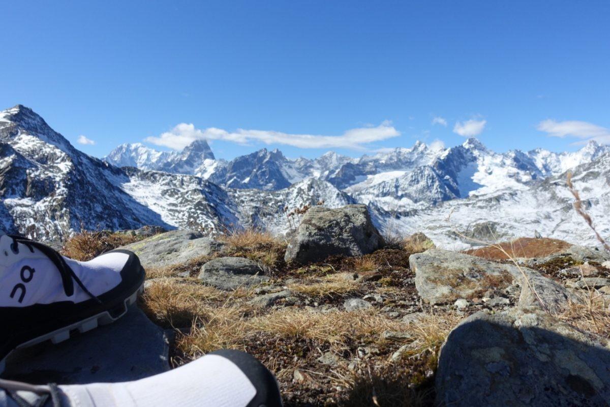 Het Mont Blanc Massief