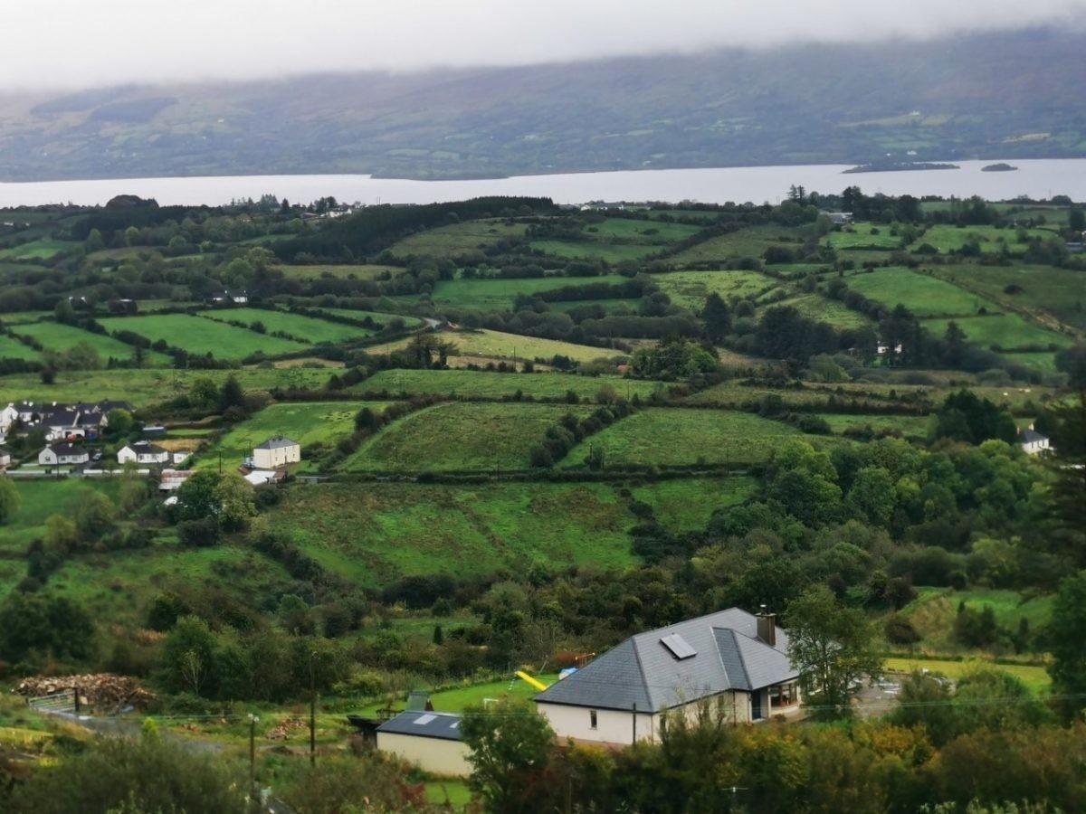 Het landschap van Ierland