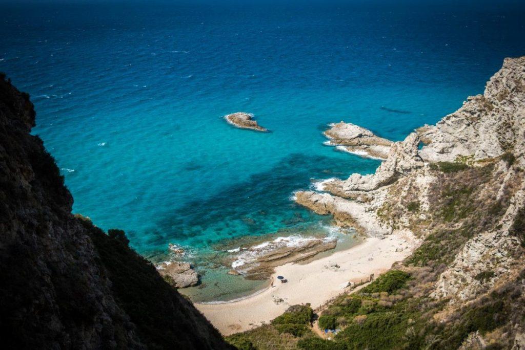 Calabrië in Zuid-Italië