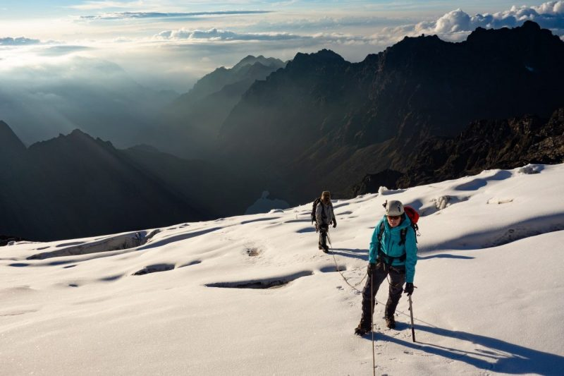 Gletsjer Margherita Peak
