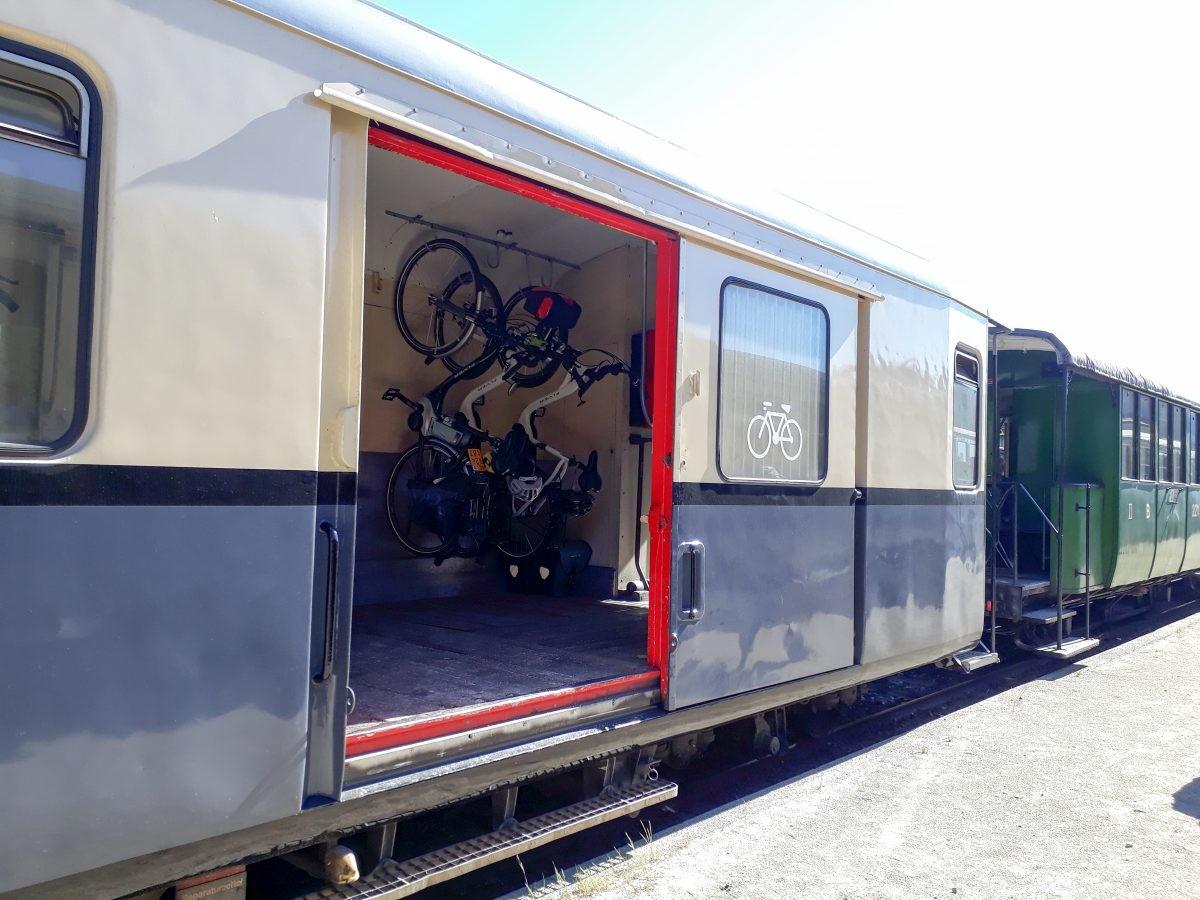 Fietsvervoer per trein