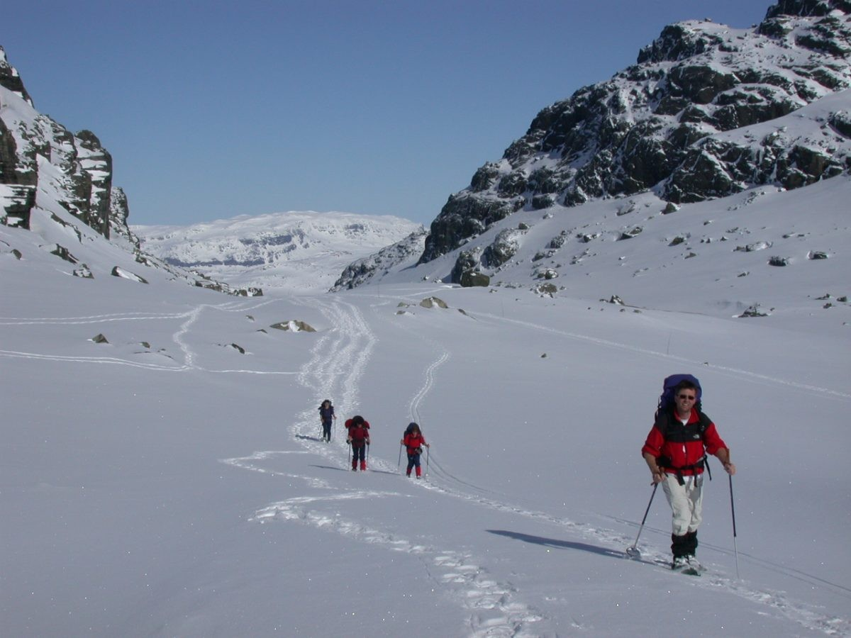 Een witte uitdaging op de hoogvlakte van Hardangervidda - Foto: SNP