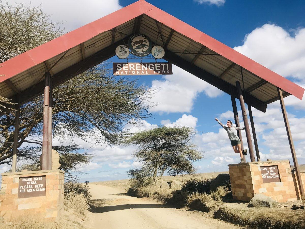 Nu gaat het gebeuren, we zijn in Serengeti! Foto: Pauline van der Waal