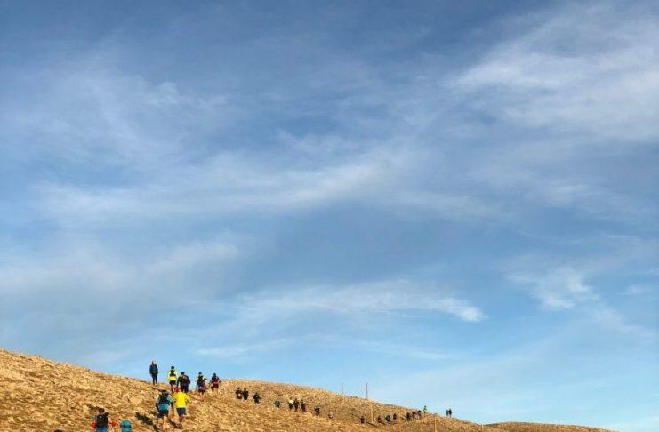 Niets dan respect voor de ultra marathonlopers   Fotocredits: Peter de Vries