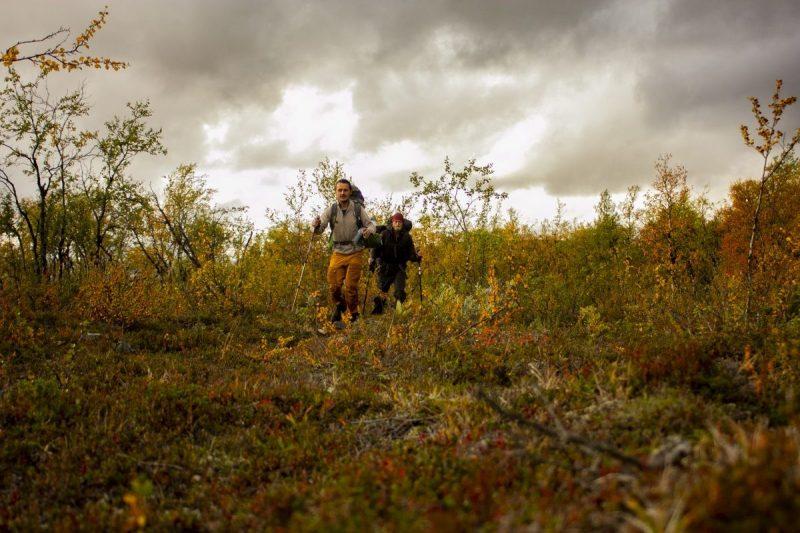 Op de tundra laat de herfst niet op zich wachten