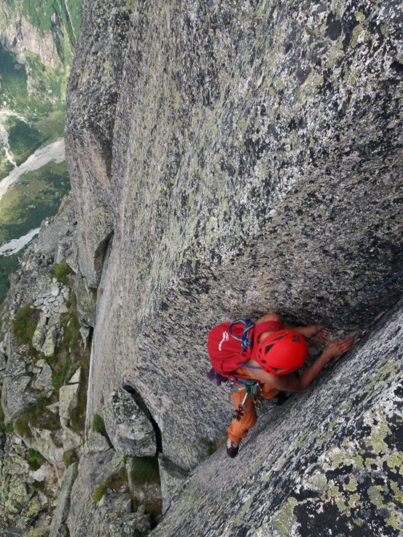 De avontuurlijke Salbit Westgraat beklimmen