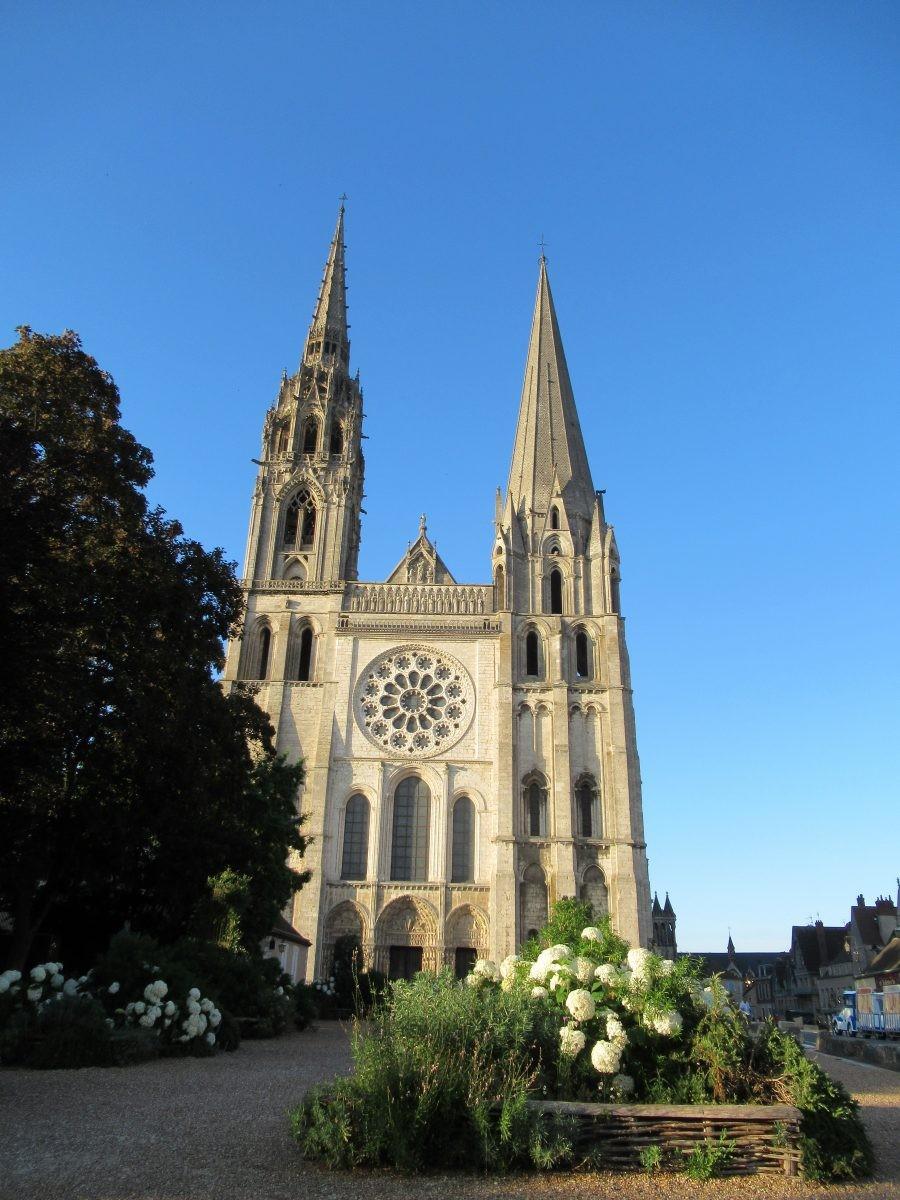 Kathedraal Chartres. Foto Bert Sitters