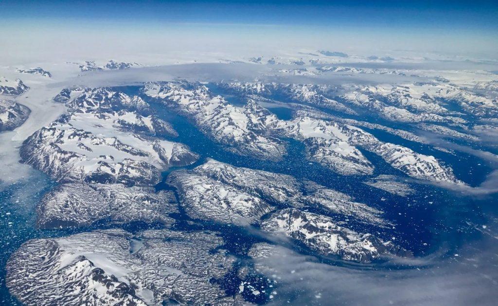 IJskappen Groenland smelten