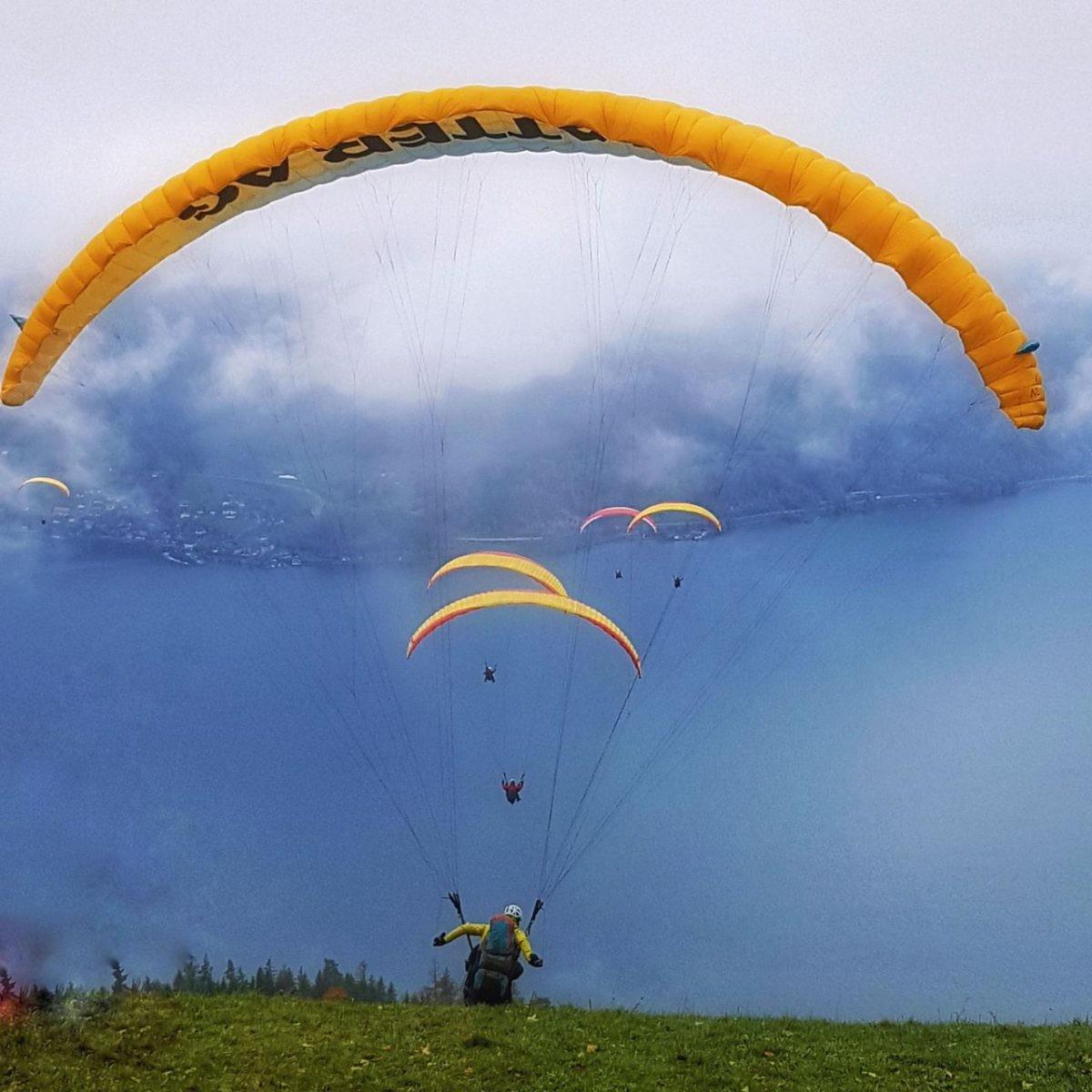 Tandem paragliding Zwitserland