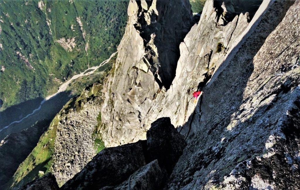 Salbit Westgraat beklimmen