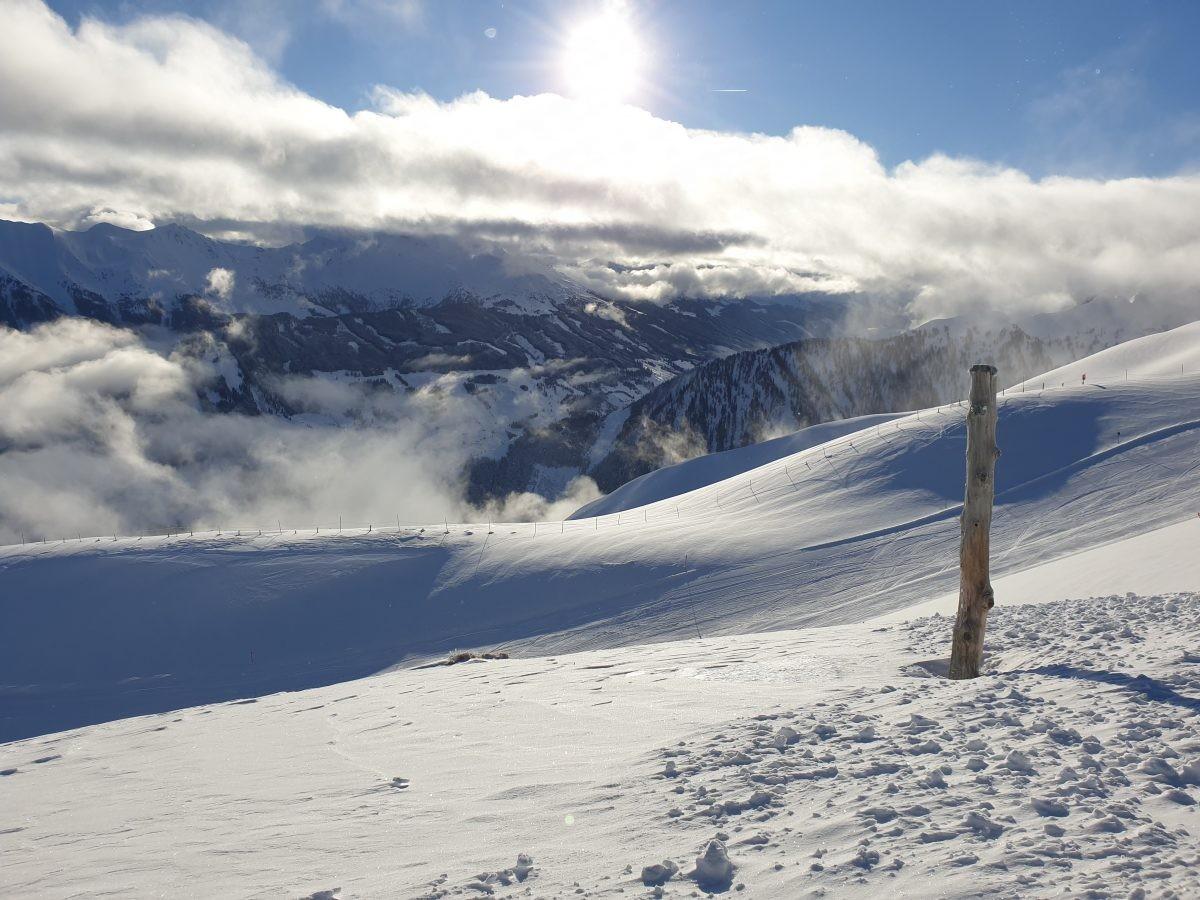 Uitzicht over het Raurisertal en de Hohe Tauern. Foto: Sietske Mensing