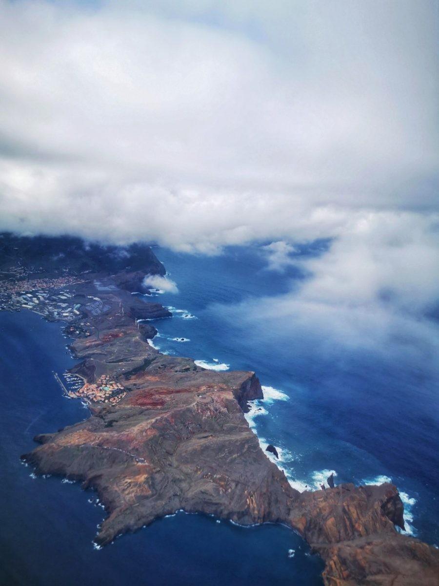 Madeira vanuit de lucht