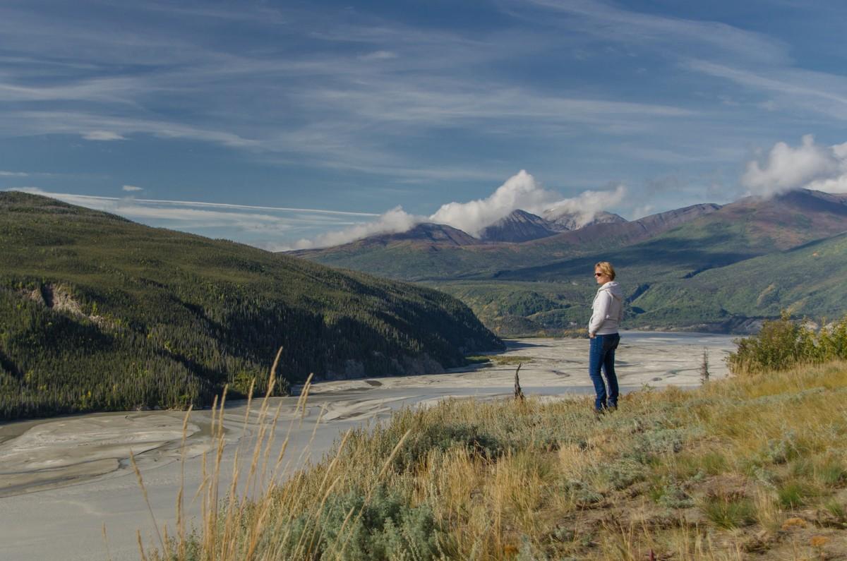 Wat een uitzicht! Alaska op z'n best. Foto: Askja Reizen