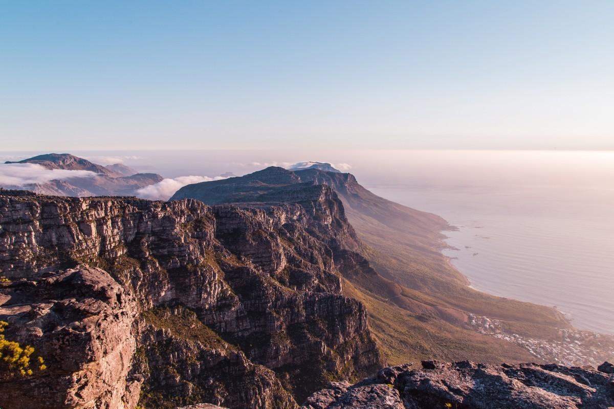 Tafelberg in Zuid-Afrika