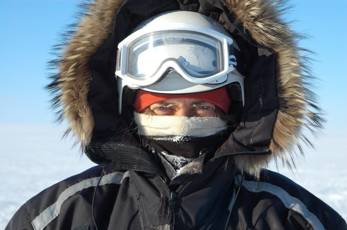 Ondanks dat het winters is, heeft Spitsbergen een relatief mild klimaat. Foto: Askja Reizen